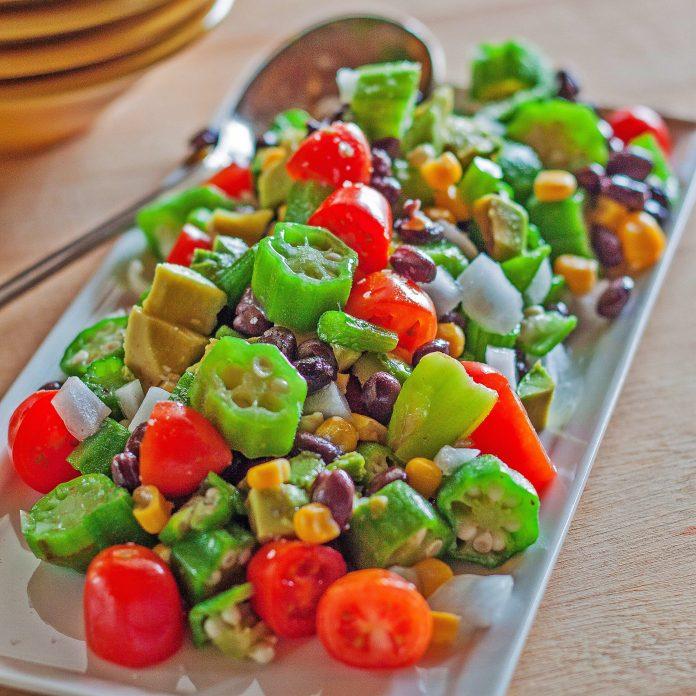 Bamya Salatası Nasıl Yapılır